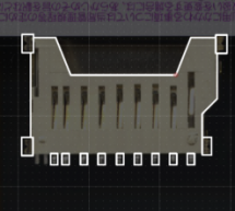 Creating footprints in KiCad using a scanner