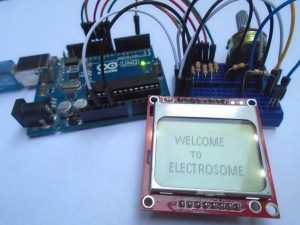 Digital Thermometer using Arduino and DS18B20 Sensor