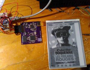 FPGA eink controller
