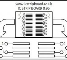ICStripBoard – PCB rapid prototyping tool