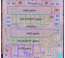 Inside the 74181 ALU chip: die photos and reverse engineering