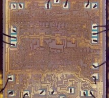 Inside the vintage 74181 ALU chip