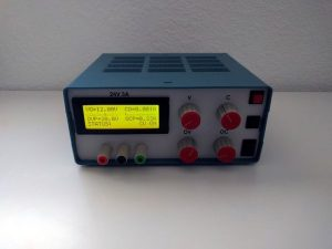 Linear Lab Power Supply with digital meter