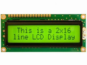 Liquid Crystal Display (LCD)