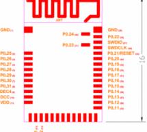 MDBT42Q, nRF52832-based BLE module
