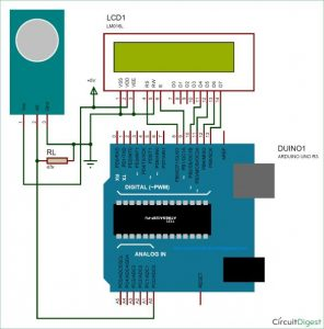 Measuring PPM from MQ Gas Sensors using Arduino (MQ-137 Ammonia) Schematic