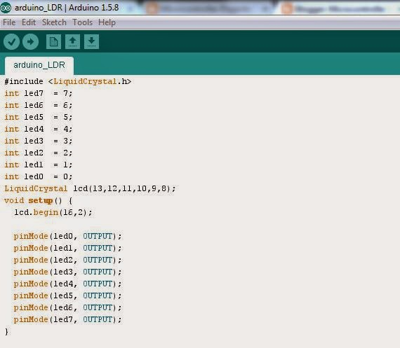 SIMPLE PROJECT PROTEUS 8 with ARDUINO LIBRARY : Automatic