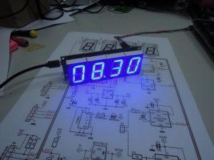 RGBdigit clock