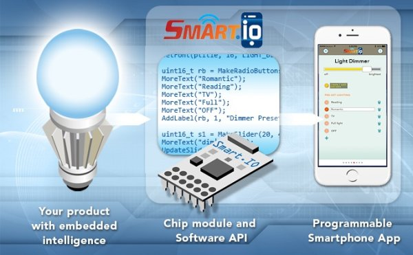 SMART.IO, An Affordable Remote Control for Embedded Designs