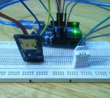 Temperature and Humidity Data Logger using Arduino