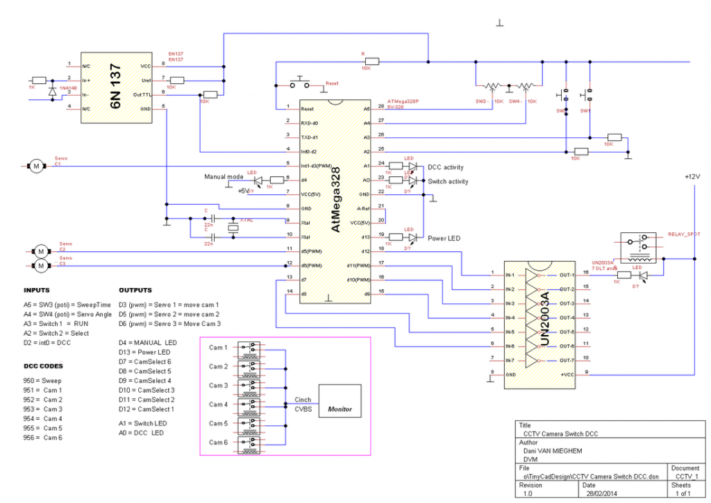 cctv camera controller use arduino for projects rh duino4projects com security camera circuit diagram cctv camera schematic diagram