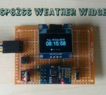 Weather Widget using ESP8266