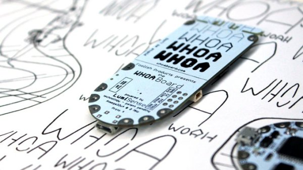 Whoa Board Dream With Touch Sensing EL Wire, Panels, Paint