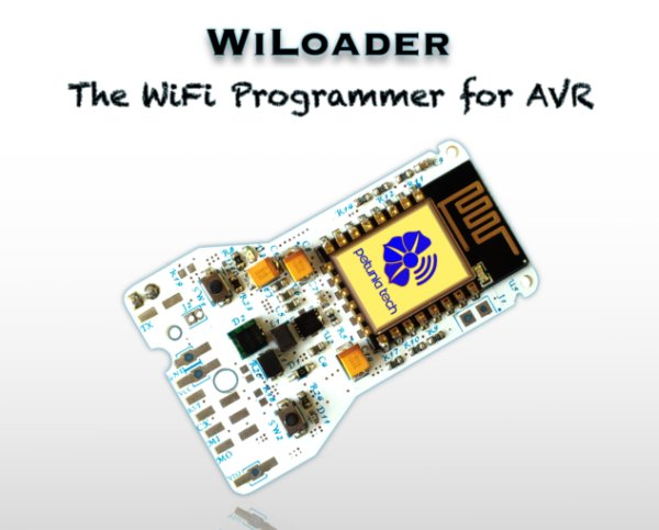WiLoader The WiFi Programmer for Arduino & AVR