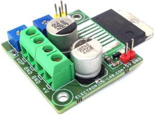 1.2V-25V 10A Adjustable Power Supply Using Power Op-Amp