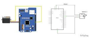 4Duino Servo Control schematic