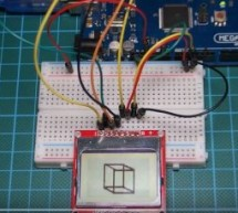Arduino Nokia 5110 Tutorial #2- Displaying Customized Graphics