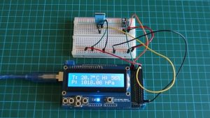 Arduino Weather Station with DHT11 and BMP180