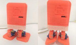 Arduino based Bluetooth Biped Bob (Walking & Dancing Robot)