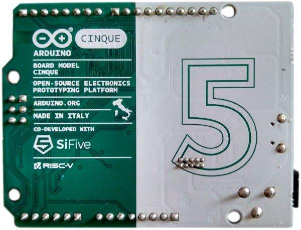Cinque, Combining RISC-V With Arduino