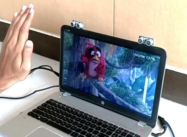 Control your Computer with Hand Gestures using Arduino
