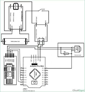 DIY Speedometer using Arduino and Processing Android App schematic