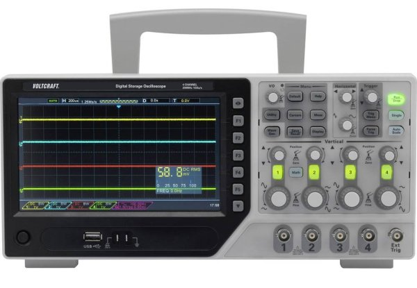 DSO-1000E F Series – Four-channel oscilloscopes with bandwidth up to 250MHz