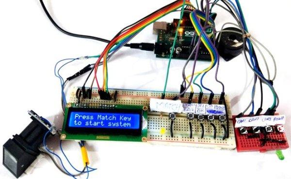 Fingerprint Based Biometric Voting Machine using Arduino