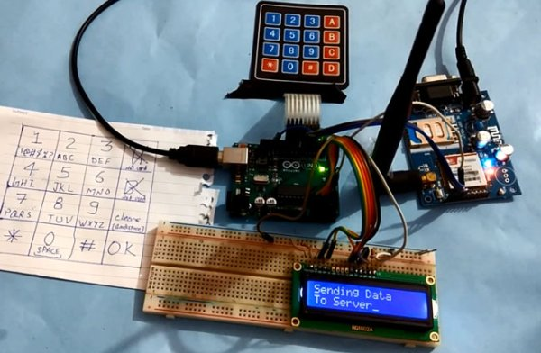 How to Send Data to Web Server using Arduino and SIM900A GPRS GSM Module