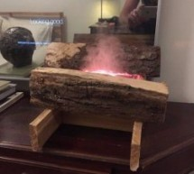 Imitation Fireplace Using Cool Mist and LEDs