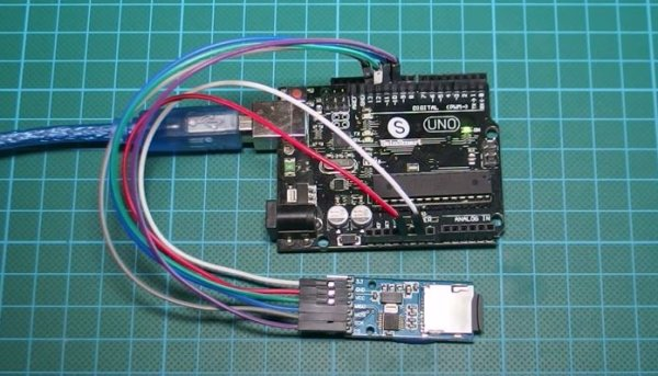 Interfacing Arduino with Micro SD card Module