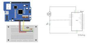 LDR Sensor schematic