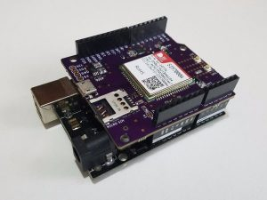 Open-Source NB-IoT Shield for Arduino