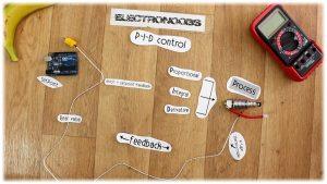PID temperature control with Arduino