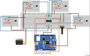 Pet Food Dispenser featuring 4Duino-24 schematic