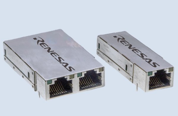 Renesas Develops RJ45 Ethernet Socket With Entire Ethernet Controller Embedded Into It