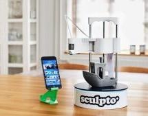Sculpto+: The world's most user-friendly desktop 3D printer