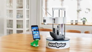 Sculpto The world's most user-friendly desktop 3D printer