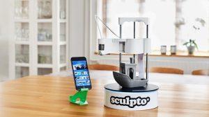 Sculpto The world's most user-friendly desktop 3D printer