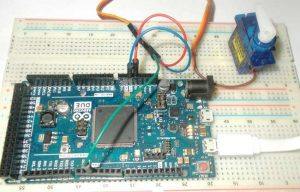 Servo Motor Control with Arduino Due