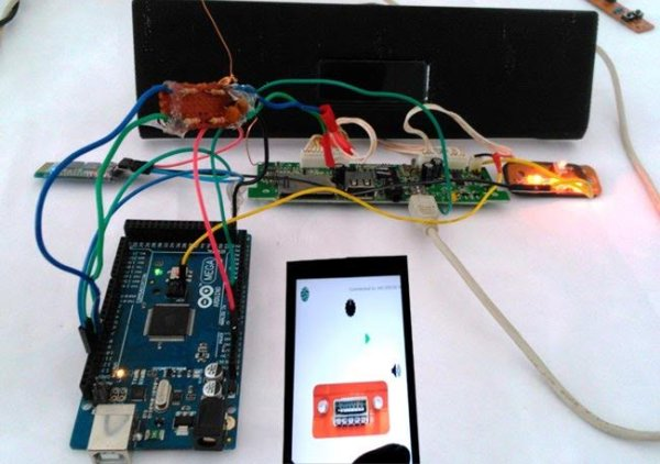 Smart Phone Controlled FM Radio using Arduino and Processing
