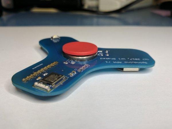 Spinduino – IoT Fidget Spinner