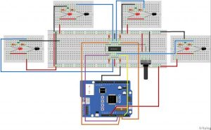 Stock Monitoring featuring 4Duino-24 schematic