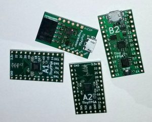 Tiny FPGA BX – A Tiny, Open Source FPGA development board for Makers