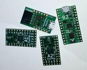 Tiny FPGA BX – A Tiny, Open Source FPGA development board for Makers