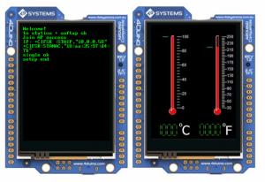 WiFi Temperature Sensor featuring 4Duino-24