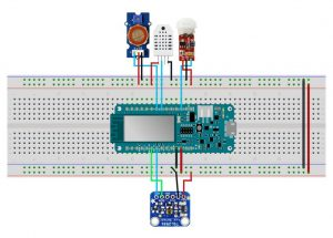 Arduino Cloud Sensor Tower schematics