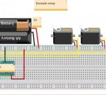MKR1000 Servo Control Panel