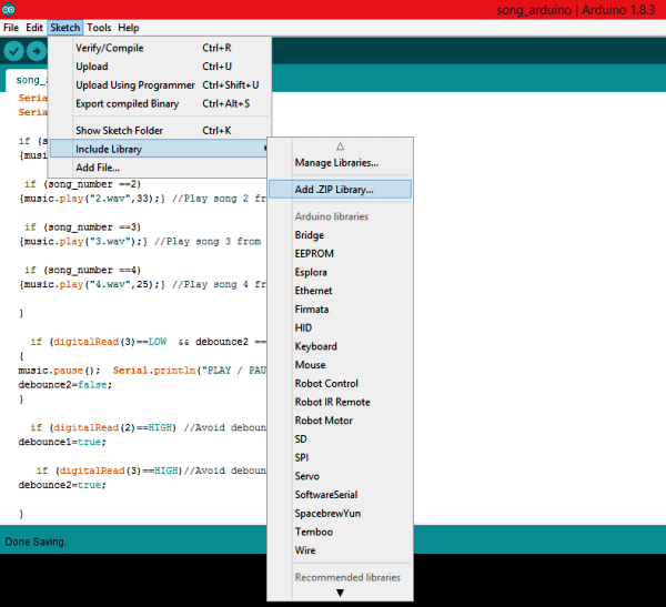 installing-library-for-playing-audio-files-using-Arduino