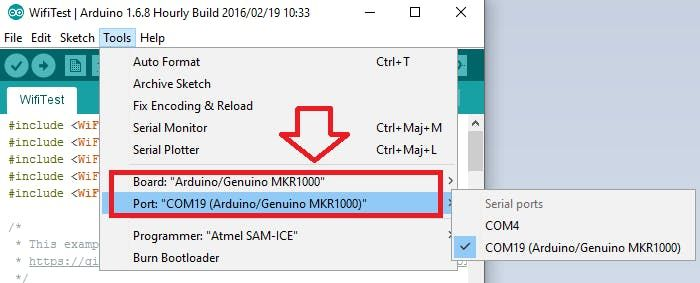 Arduino MKR1000 Getting Started -Use Arduino for Projects
